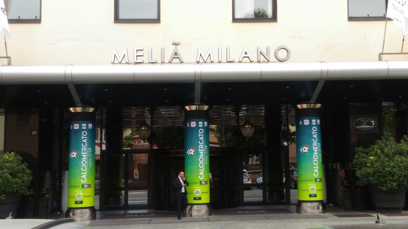 Melia Milano sede calciomercato Serie A
