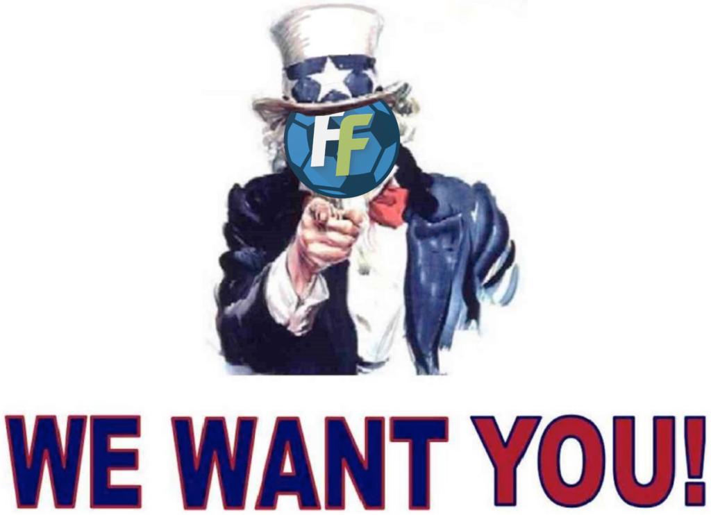 Vogliamo te per la nostra lega Fantacalcio!
